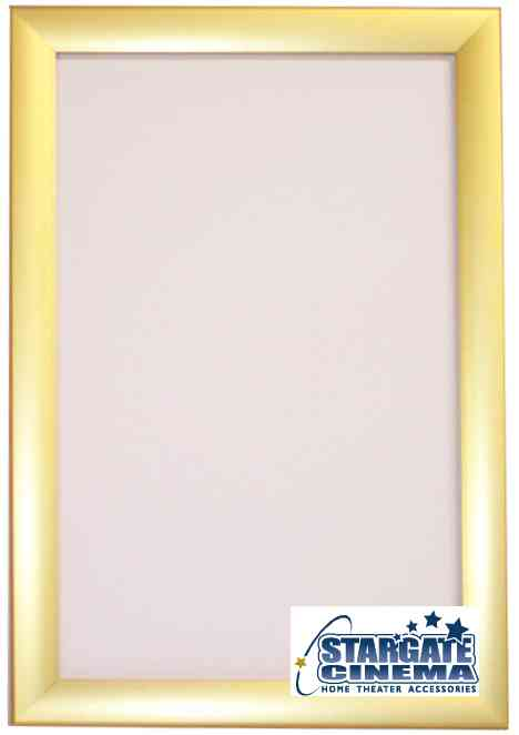 deluxe movie poster frame colors our speedlock frames come in three colors silver black and gold - Movie Poster Frame