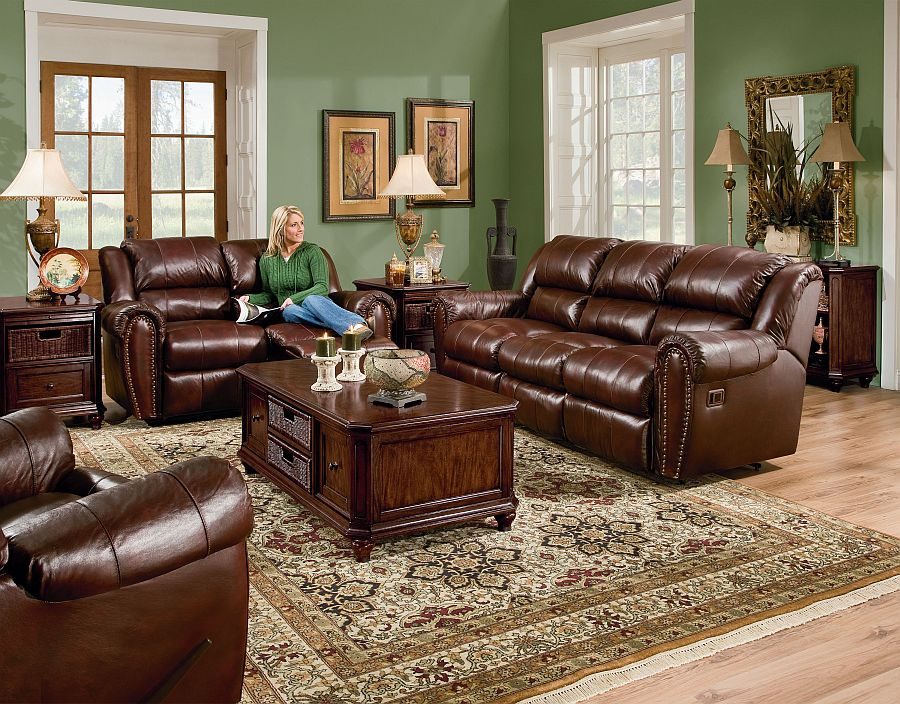 Lane Home Theater Summerlin Reclining Sofa. Sofa Collection