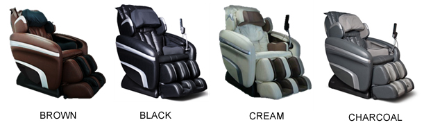 Colors For The Osaki 6000 Massage Chair With Heat