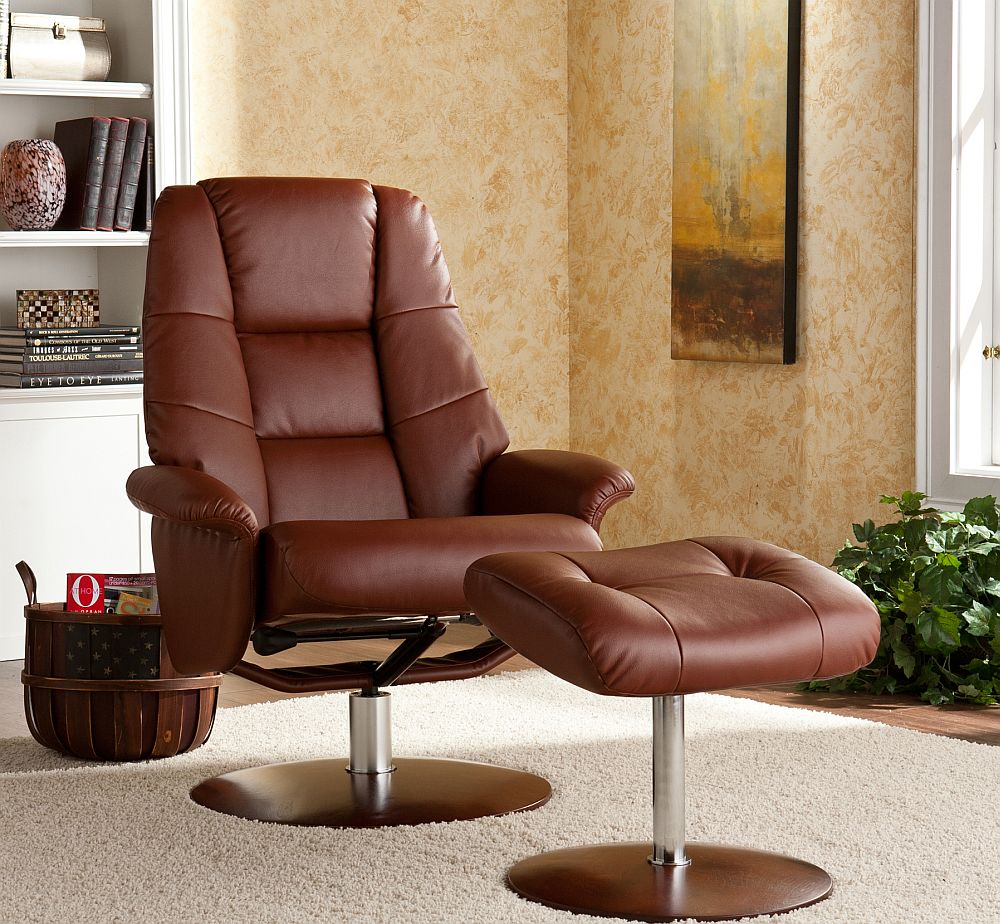 Holly Amp Martin Torwood Euro Style Recliner And Ottoman In