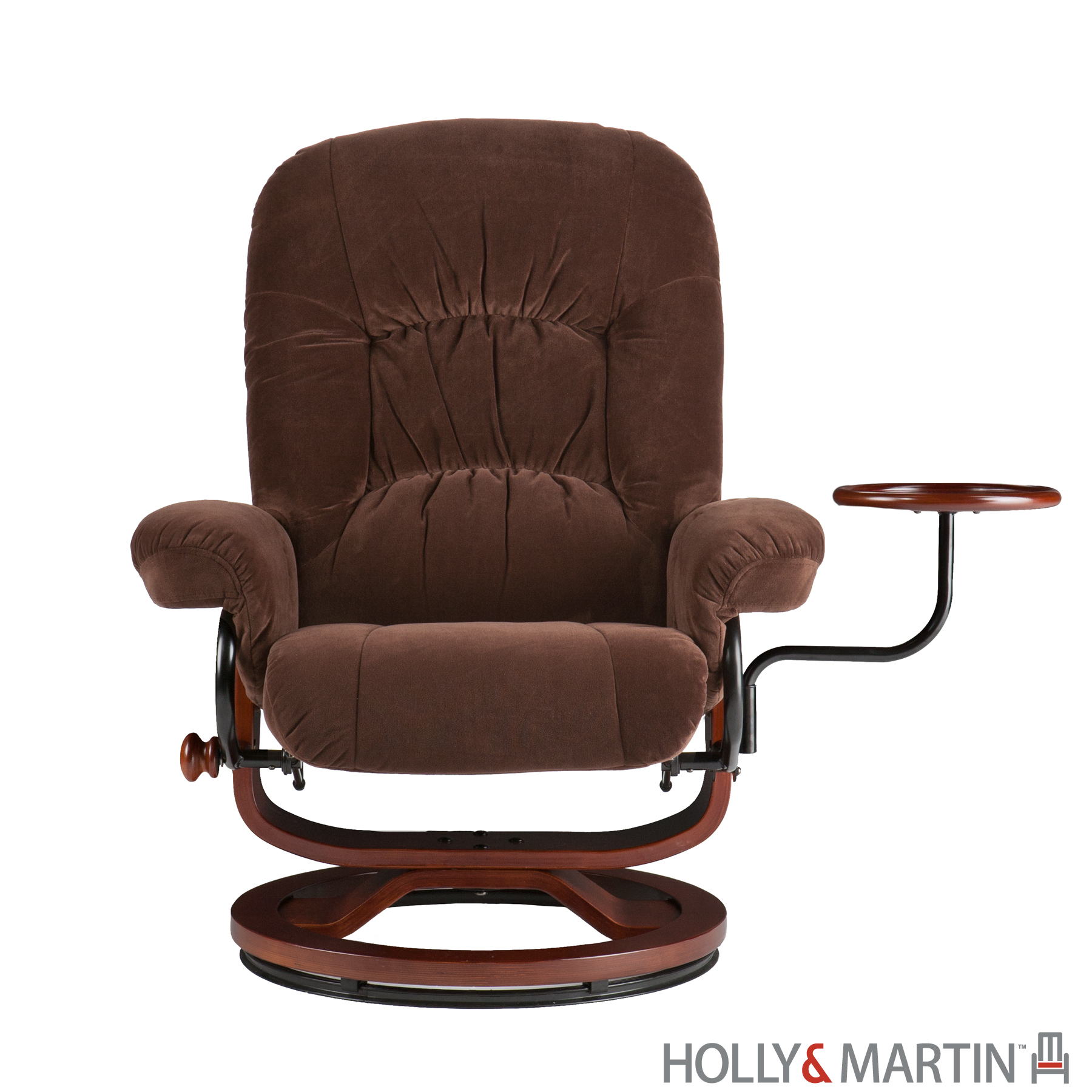 Holly Amp Martin Tyler Fabric Euro Style Recliner And
