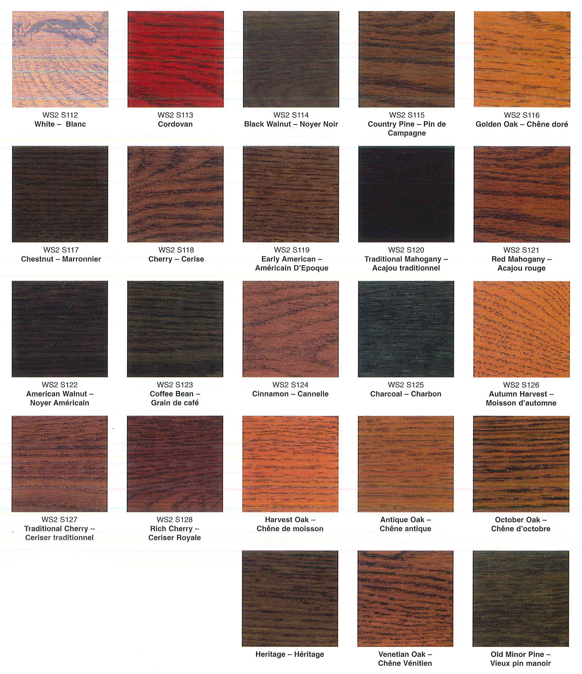 deck stain color chart car interior design. Black Bedroom Furniture Sets. Home Design Ideas