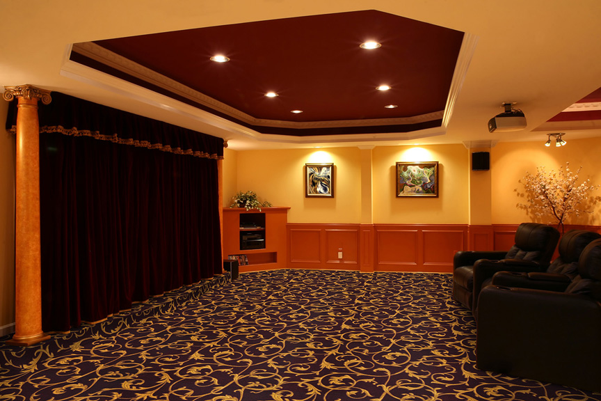 Acanthus Home Theater Carpet Stargate Cinema