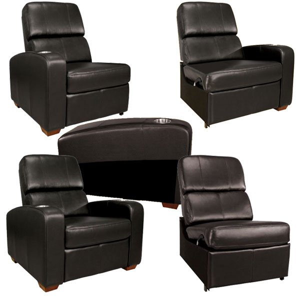Swell Bello Home Theater Seating Black Stargate Cinema Caraccident5 Cool Chair Designs And Ideas Caraccident5Info