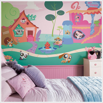 Beautiful Littlest Pet Shop XL Wall Mural. Amazing Ideas