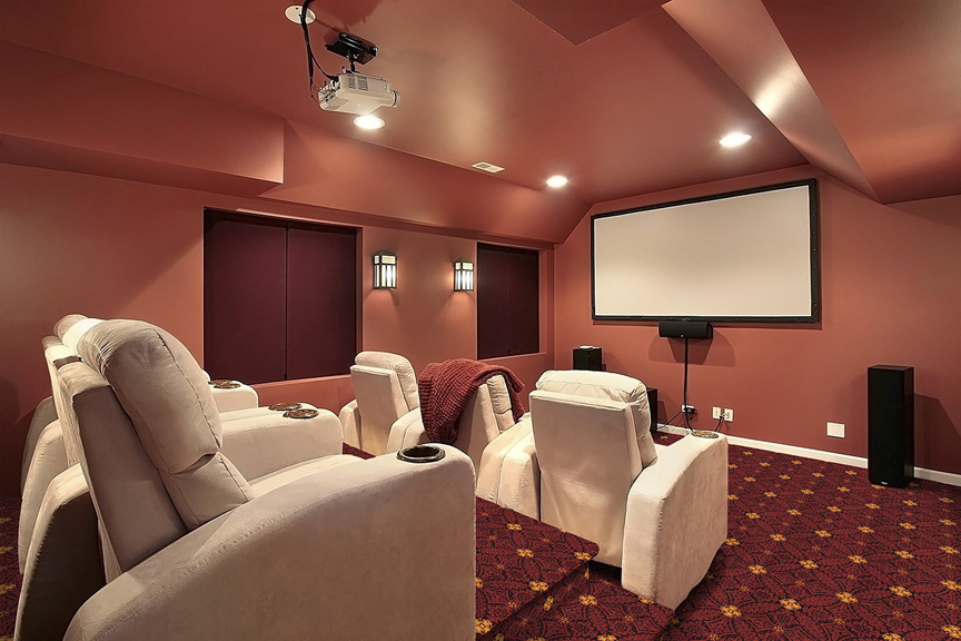 Fort Wood Home Theater Carpet Stargate Cinema