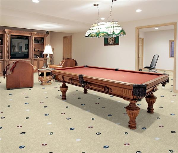 Open Table Game Room Carpet
