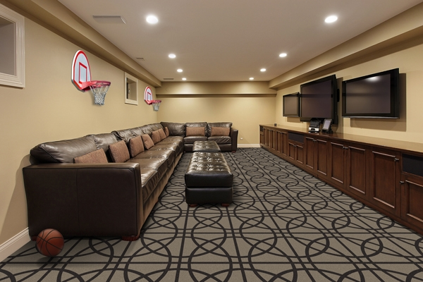 Fast Break Lounge Theater Carpet Stargate Cinema