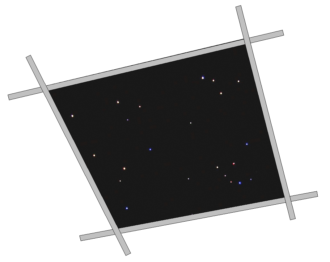 Star ceiling panel stargate cinema star ceiling tile 2 x 2 dailygadgetfo Image collections