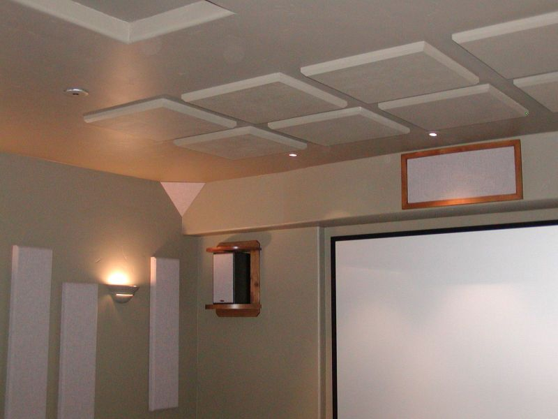 Home Theater Acoustical Panel Kit