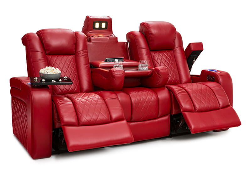 Home Theater Seating Seatcraft Anthem Home Theater Sofa - Home theater sofa