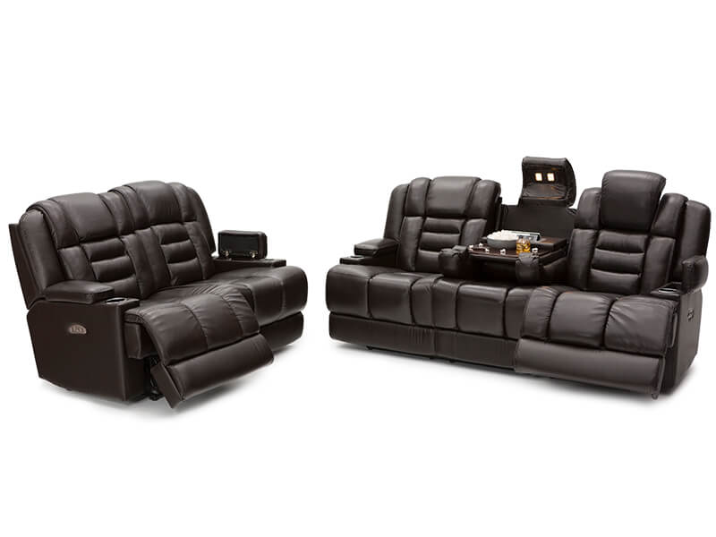 Home Theater Seating :: Multimedia Sofas & Sectionals ...