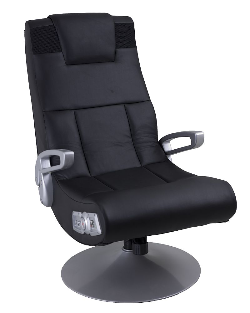 Attrayant X Pedestal Swivel Wireless Gaming Chair