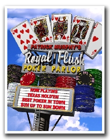 Vegas Poker Royal Flush Day Personalized Print!