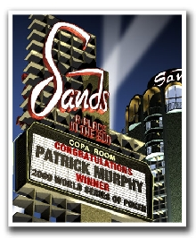 The Sands Marquee Personalized Night Print!