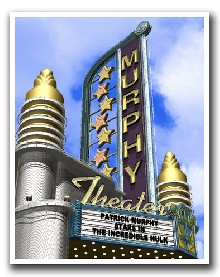 Art Deco Theater Personalized Day Print!