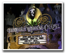 Fairytale Wedding Chapel Personalized Marquee!