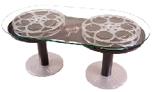 Paramount Limited Edition Double Rewind Film Reel Coffee Table