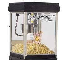 Fun Pop 4 oz Midnight Black Popcorn Machine