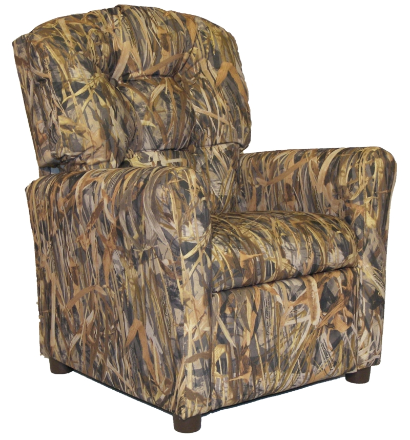 Lodge Kids Button Back Deluxe Recliner