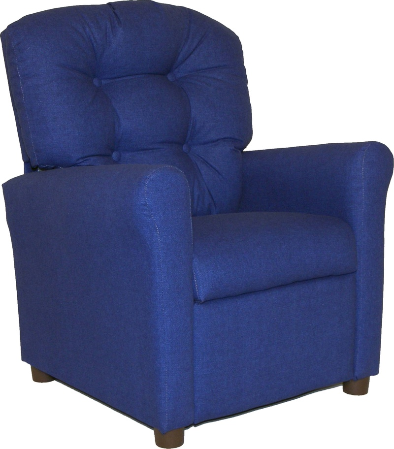 List Price: $299.99; Kids Button Back Luxury Recliner