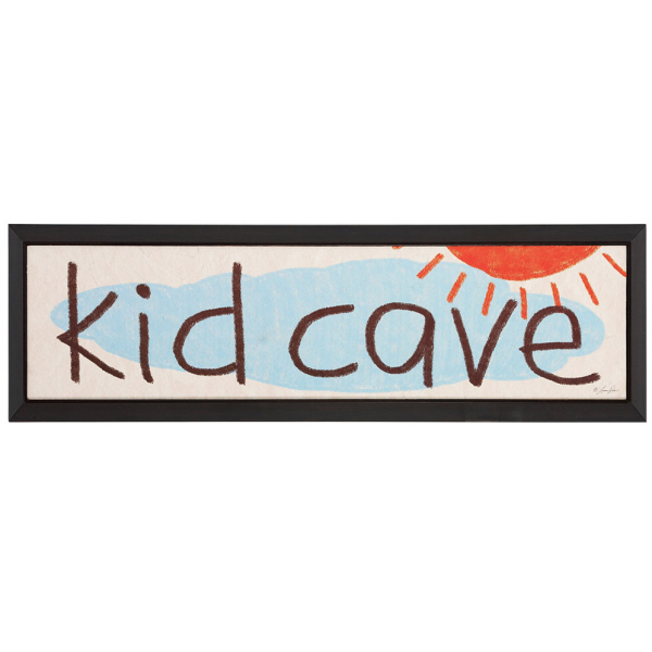 Kid Cave Framed Wall Art