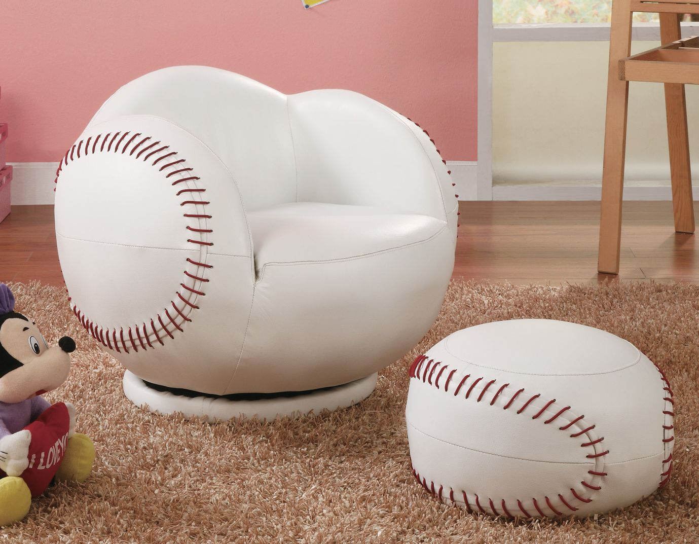 Small Baseball Kids Chair