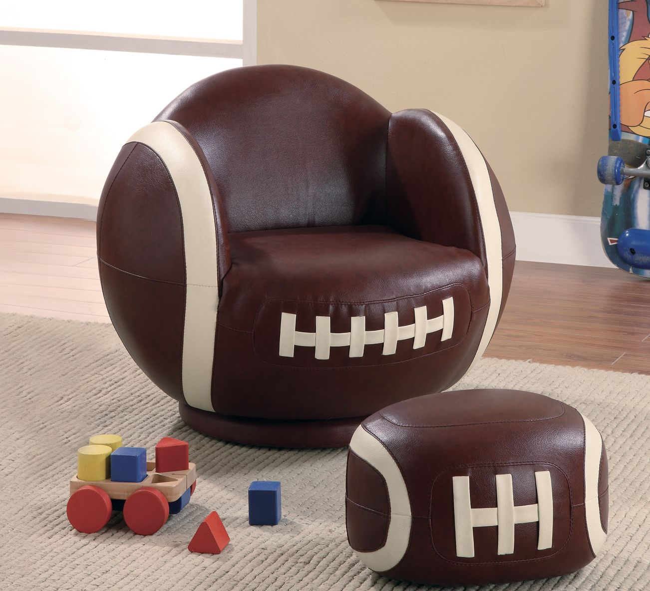 Small Football Kids Chair