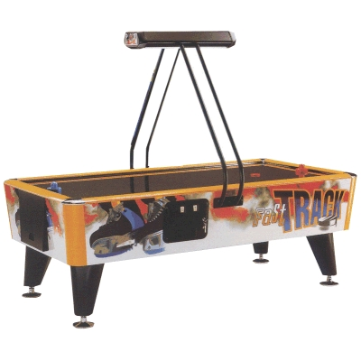 Fast Track 7' Air Hockey with Overhead Scoreboard
