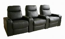 Chamber Home Theater Seats Black