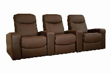 Chamber Home Theater Seats Brown