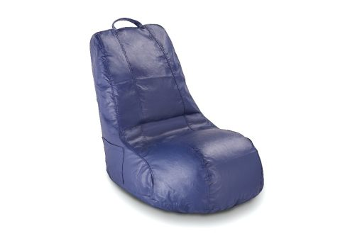 Video Bean Bag Chair in Blue, Black and Red