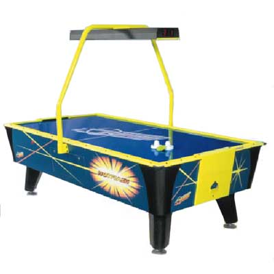 Hot Flash II  8' Air Hockey Table with Overhead Scorekeeper