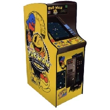 "New! Pac Man 19"" 25Th Anniversary Home Cabaret Model/Non-Coin"