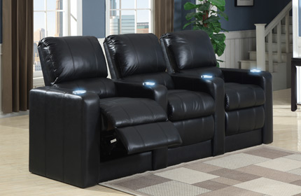 Seatcraft Barcelona Back Row Home Theater Seating
