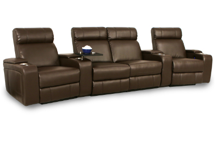 Seatcraft Baron Home Theater Sofa