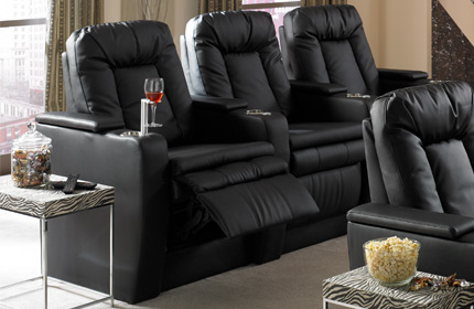 Seatcraft Bellagio Back Row Home Theater Seating