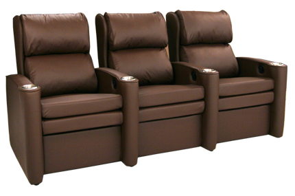 Seatcraft Belmont Space Saver Home Theater Seating