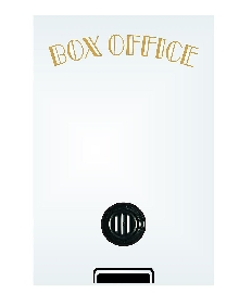 Home Theater Box Office Mirror (no frame)