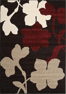 Casa Area Rug with Flowers