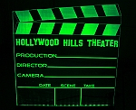 NEW! LED Clapboard Theater Sign