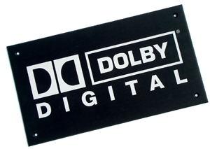 NEW Dolby Digital Plaque