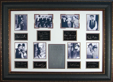 """Comedy Legends"" with Engraved Signature"