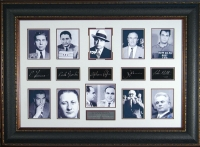 """""""Gangsters"""" with Engraved Signatures"""