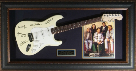 Guitar Display - the Eagles