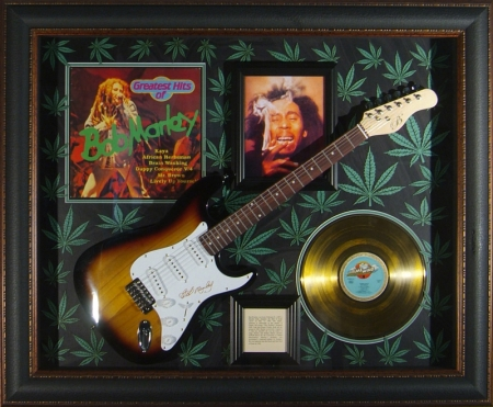 Guitar Display - Bob Marley