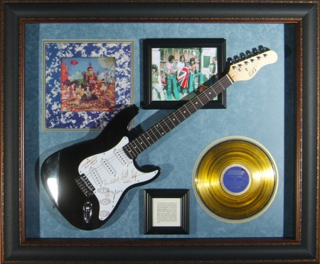 Guitar Display - Rolling Stones