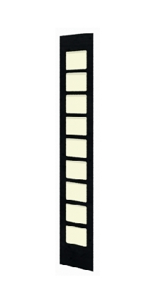Lighted Film Face Pilaster Column