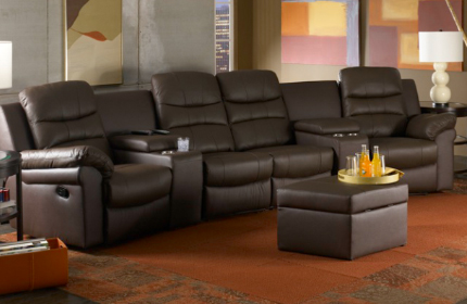 Seatcraft Genesis Theater Sectional