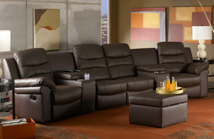 Seatcraft Genesis Home Theater Sofa